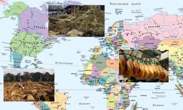 We importeren veel voer, en we exporteren veel vlees, maar blijven zelf met de mest zitten.